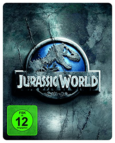 Jurassic World -  Premium Steelbook Edition mit 2 Dinosaurier-Figuren [Blu-ray] [Limited Edition]