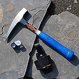 Geologenhammer im Paket 1 für z.B. Erstsemester mit Lupe und