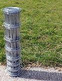 Grillage/Clôture pour bétail 50m x 1m galvanisé. M8/100/15 (732)