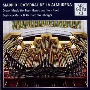 Madrid - Catedral de la Almudena: Vierhändige Orgelmusik