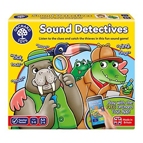 Orchard Toys 078 Sound Detectives Game, Multi, Taglia Unica