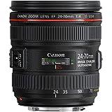 Canon EF 24-70 mm f/4L IS USM lens, Black