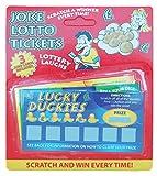 Kinderparty Scherzartikel gefälschte Lotterie Kratzer Karten (3 Pro Karte Packung mit 12