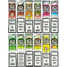 Blunt Wraps doble Platinum – 12 paquetes en 12 sabores – sin ...