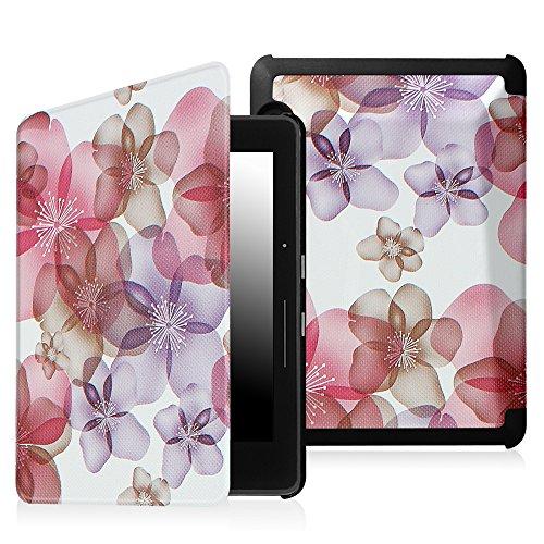 Fintie SmartShell Étui Kindle Voyage-[la plus fine et plus claire] PU de protection housse en cuir avec fonction veille/réveil automatique (compatib...