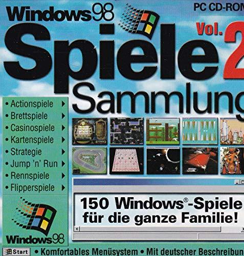 Windows 98 Spiele-Sammlung Vol. 2