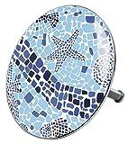Badewannenstöpsel Mosaic World, deckt den kompletten Abflussbereich ab, hochwertige Qualität ✶✶✶✶✶