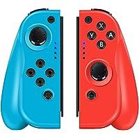 CHEREEKI Controller per Nintendo Switch, Controller Wireless di Ricambio Sinistro e Destro per Joy-con con Doppio Shock…