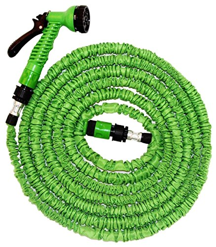 new-fhs-100-ft-expandable-flexible-garden-hose-solid-brass-hose-fittings-spray-gun-green