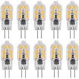 G4 LED-licht warm wit 3000K 200 lumen 2W 12V AC DC 20W halogeenlicht, niet dimbaar, voor binnen en op de camping, G4 dubbele