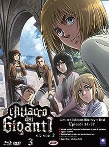 L'Attacco dei Giganti - Stagione 2-3 (Episodi 9-12) (Blu-Ray + DVD)