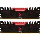 PNY Kit de Modules Mémoire RAM pour Ordinateur de Bureau XLR8 Gaming DDR4 3200 MHz 16GB (2x8GB)