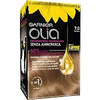 Garnier Tinta Capelli Olia, Colorazione Permanente senza Ammoniaca per una Fragranza Delicata, Copre il 100% dei Capelli…