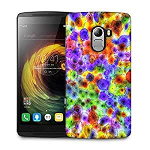 Snoogg multicolored jellyfish 2885 Designer Protective Back Case Cover For Lenovo K4 Note