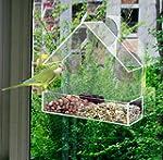 REDWOOD Perspex Window Bird Feeder