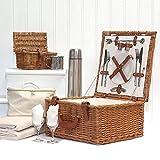 Luxus Picknickkorb 'Harpenden' Für 2 Personen Mit...