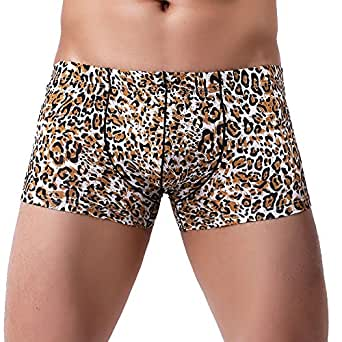 b1957fc39c8702 Man Boxers Briefs,Ronamick Men Patchwork Print Bulge Pouch Boxer Briefs  Shorts Underpants (M