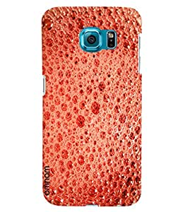 Omnam Glass Bubbles Printed Designer Back Cover Case For Samsung Galaxy S7