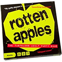 Rotten Apples - the Tasteless Adult Party Game - 2-10 Players - 30 Mins Play Time