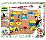Lena 65828 - Hammerspiel Baustelle 64 Teile ca. 28 x