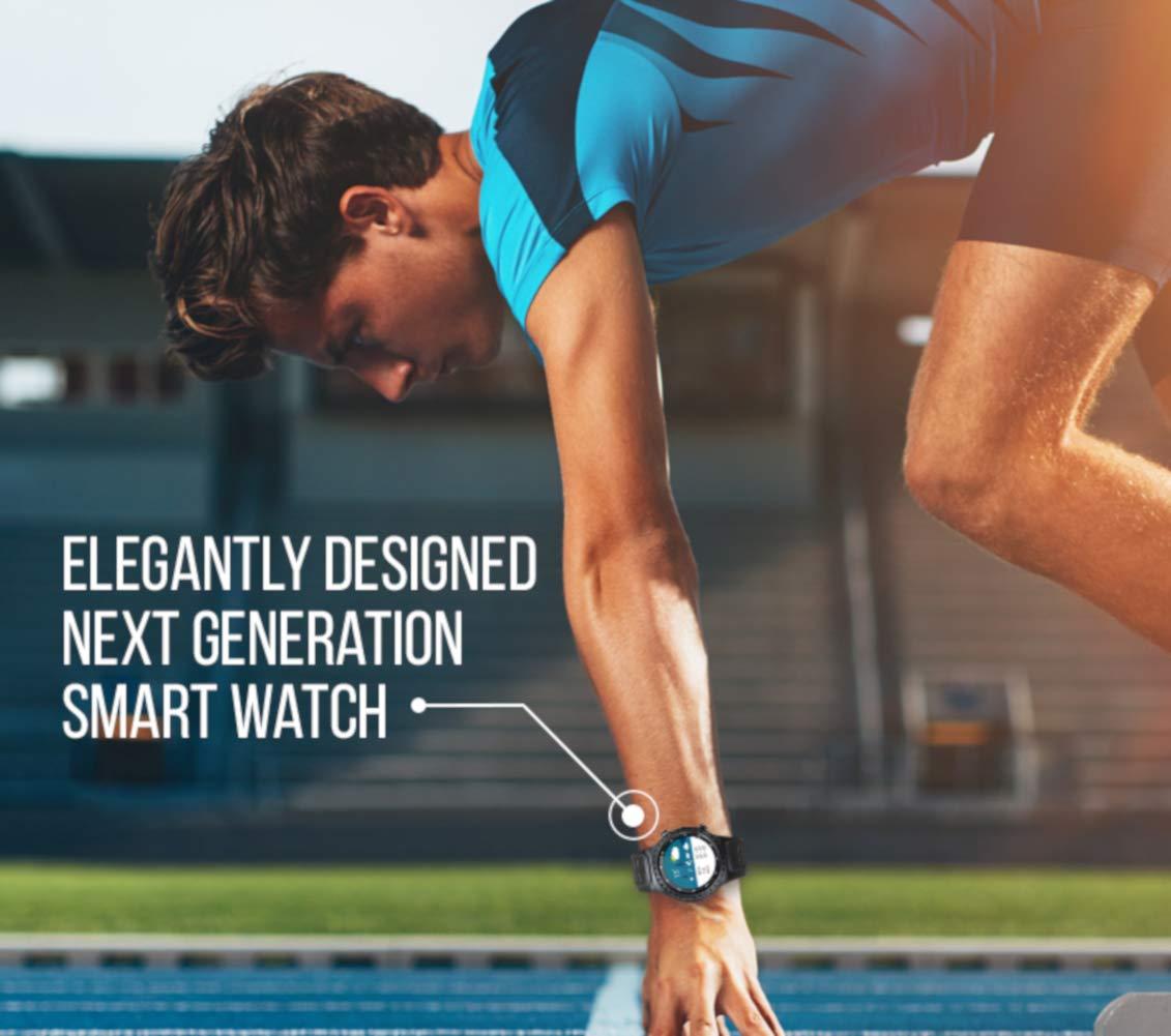 PRIXTON – Reloj Inteligente Hombre/Mujer-Reloj Smartwatch Hombre/Mujer: