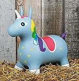 Harrys horse Einhorn Unicorn Hüpfpferd Luftpferd Spielpferd
