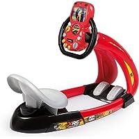 Smoby - Cars XRS - V8 Driver + Support Smartphone - Simulateur de Conduite pour Enfant - Volant Electronique - Sons et…