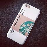 "Eric? Nuevo café de Starbucks Touch taza duro caso cubierta para iPhone 6(4.7"") color blanco"
