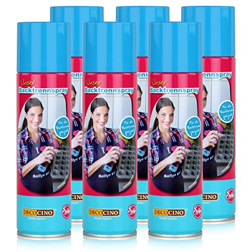 Dekoback Decocino Backtrennspray 200ml - Für alle Backformen (6er Pack)