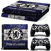Elton Soccer Sport Theme 3M Skin Sticker Cover For PS4 Console And Controllers