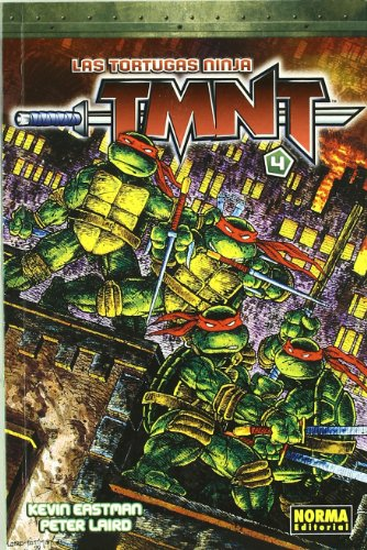 Las tortugas ninja TMNT 4/Teenage Mutant Ninja Turtles 4 por Kevin Eastman