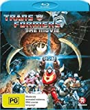 Seltene spezielle Abdeckung 1986 Transformers The Movie Cartoon neuesten Blu-ray Ausgabe Dolby Digital 5.1 Region Free
