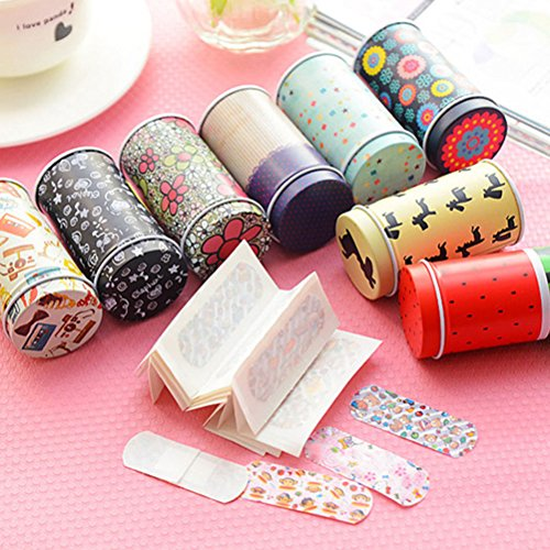 welecom-20-pieces-cartoon-waterproof-metal-band-aidcute-band-breathable-bandages-band-aid-stickerwou
