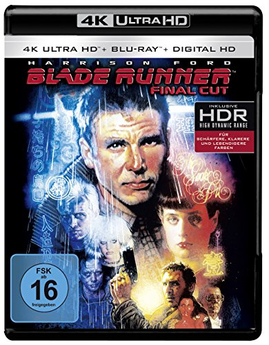 Der Blade Runner (1982) (Final Cut) - Ultra HD Blu-ray [4k + Blu-ray Disc]