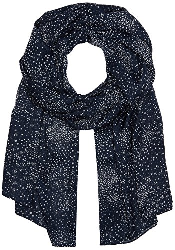 PIECES Damen Schal PCNIL Long Scarf, Blau (Navy Blazer), One Size
