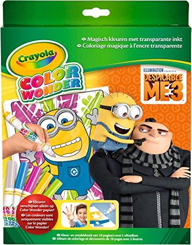 (Crayola CC070019 Color Wonder Set Minions)
