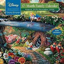 Thomas Kinkade Studios: Disney Dreams Collection 2019-2020 Square Family Calendar