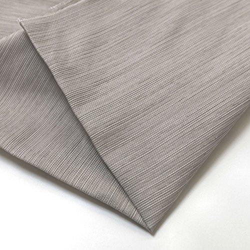 TOLKO Deko-Stoffe Meterware als Gardinen- und Vorhang-Stoff in Beige | Breite: 220 cm, für preiswerte Gardine, Vorhang, Sonnenschutz, Beschattung, zum Nähen