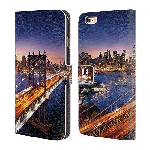 Head Case Designs Pont De Brooklyn Skyline De La Ville Étui Coque De Livre En Cuir Pour Apple iPhone 5c Pont De Brooklyn