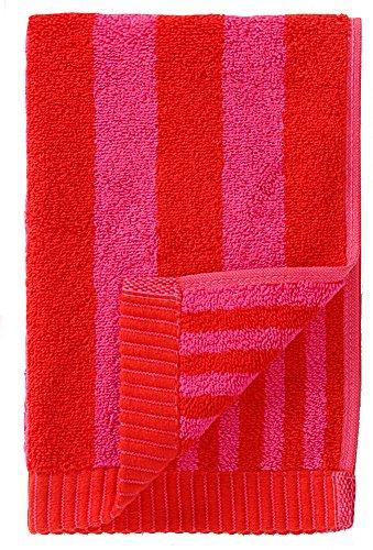 marimekko-kaksi-raitaa-gstetuch-30x50-cm-rot-rot