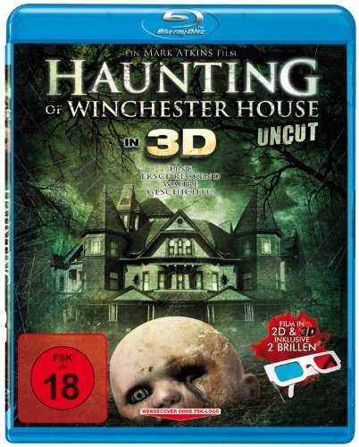 dtp entertainment AG Haunting of Winchester House 3D (Blu-ray) - inkl. 2 Brillen