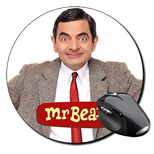 Mr Bean Rowan Atkinson Mauspad Round Mousepad PC