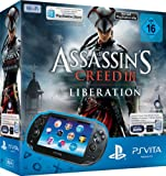 PlayStation Vita (WiFi) inkl. Assassins Creed III Liberation (Download Voucher) + 4GB Memory Bild
