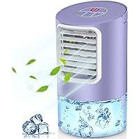 Climatiseur Portable, Mini Refroidisseur D'air Portable Ventilateur de Climatisation Personnel Portable Refroidisseur…
