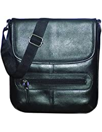 Style98 100% Pure Leather Handmade Stitched Unisex Sling Bag For Men,Women,Boys & Girls - B06XXQWBXK