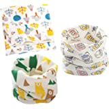 DEBAIJIA Baby Scarves Kids Infant Neckerchief Boys Girls Cotton Multi-use Collar Warmer Cute Windproof Soft Printing…