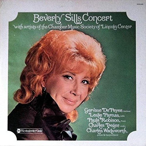 Beverly Sills With Artists Of The The Chamber Music Society Of Lincoln Center - Beverly Sills Concert - ABC Westminster Gold - WGS-8268