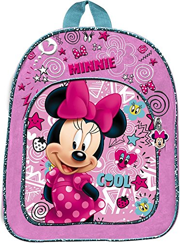 Star Licensing Disney Minnie Zainetto Medio Zainetto per Bambini, 32 cm, Multicolore