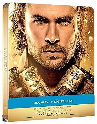 Le Chasseur et la Reine des Glaces [Édition limitée boîtier SteelBook - Version longue - Blu-ray + Digital HD]