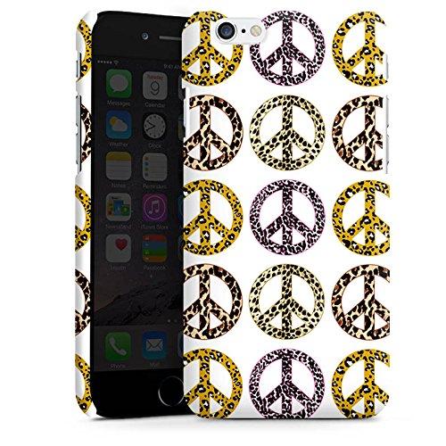 Apple iPhone 5s Housse Étui Protection Coque Paix Peace Peace Cas Premium mat
